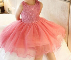 Glitter Girl Party Dress - Pink - Three Bears Kids