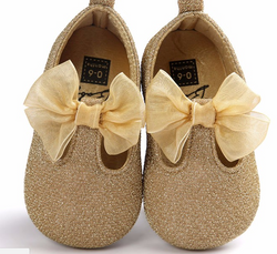 Bow Baby Glitter Gold - Three Bears Kids
