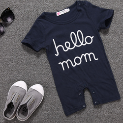 Hello Mom Romper - Three Bears Kids