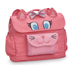 "Bixbee ""Kitty"" Kids Backpack Small - Pink - Three Bears Kids"