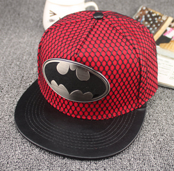 Large Red Batman Cap - Three Bears Kids