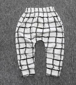 Lattice Harem Pants - Three Bears Kids