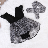Lets Go Leopard Romper - Three Bears Kids