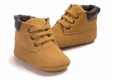 Baby Hi-Tops - Light Brown - Three Bears Kids