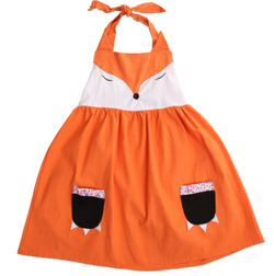 Little Fox Dress - Three Bears Kids