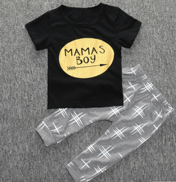 Mama's Boy 2 Piece Set - Three Bears Kids