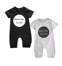 Mammas Boy Romper - Three Bears Kids