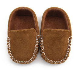 Mini Mocs - Brown Suede - Three Bears Kids