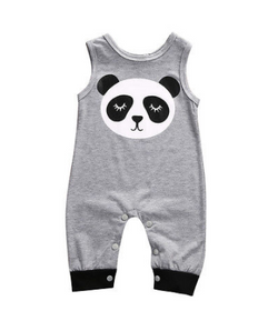 Panda Romper - Three Bears Kids
