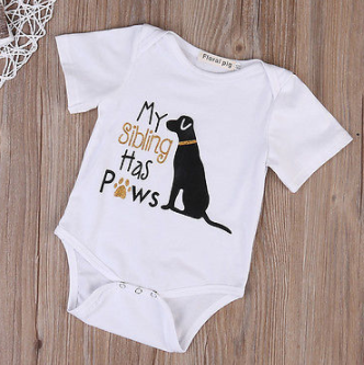 PAWS Romper - Dog