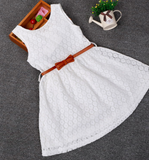 Penny Lace Dress - Mini - Three Bears Kids