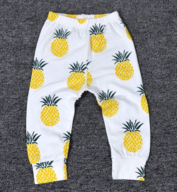 Pineapple Harem Pants - Three Bears Kids