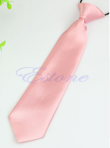 Tie - Satin Pink - Three Bears Kids