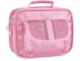 "Bixbee ""Sparkalicious"" Kids Insulated Glitter Lunchbox - Pink - Three Bears Kids"