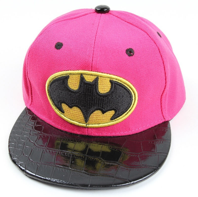 Pink Batman Cap - Three Bears Kids