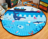 Quilted Playmat - Ocean - Three Bears Kids