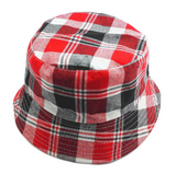Reversible Sun Hat - Red - Three Bears Kids