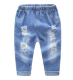 Ripped Jeans - Light Blue - Three Bears Kids