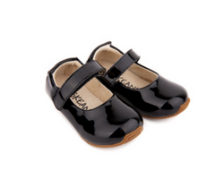 Skeanie - Mary-Jane Shoes Patent Black - Three Bears Kids