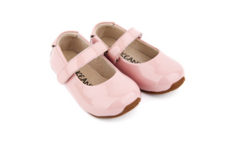 Skeanie - Mary-Jane Shoes Patent Pink - Three Bears Kids