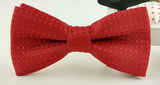 Bow Tie - All Red - Three Bears Kids