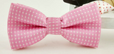 Bow Tie - Spotted Pink - Three Bears Kids