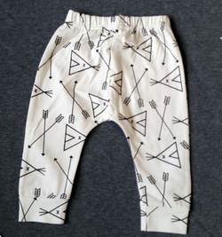Tee Pee Harem Pants - Three Bears Kids