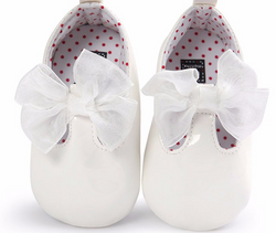 Bow Baby White Patent - Three Bears Kids