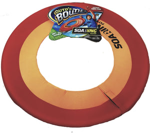 Out'dr (Outdoor) Bound Extra Large Red & Orange Soaring Flyer Round Disc Frisbee