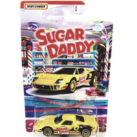 Matchbox Limited Candy Series Yellow Sugar Daddy Ford GT-40 1/64 S Scale Car Diecast