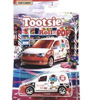 Matchbox Limited Candy Series White Tootsie Roll Pop Volkswagen Delivery Van 1/64 S Scale Car Diecast