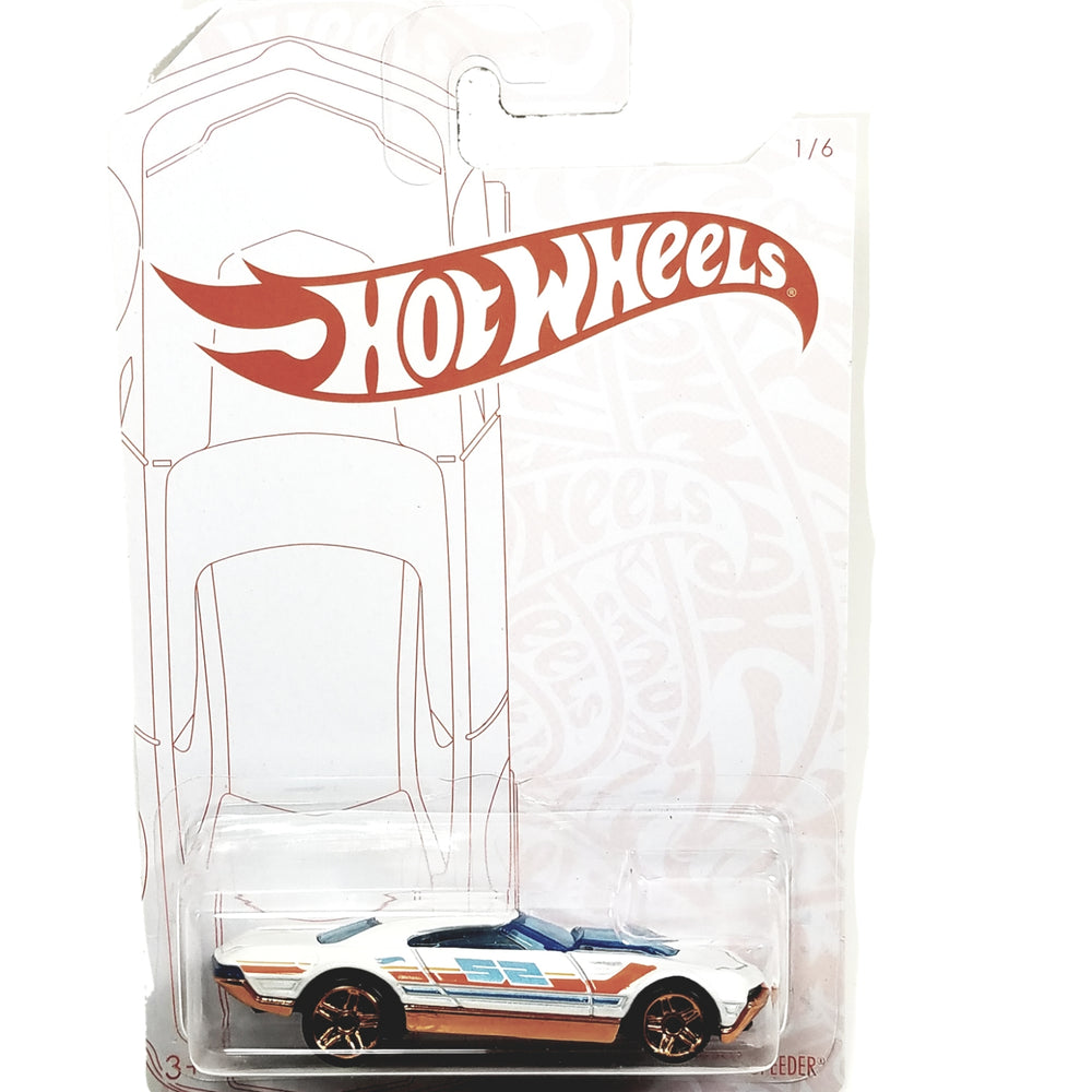 Hot Wheels 2020 Pearl and Chrome Has Monkey Muscle Speeder 1/64 Diecast Car