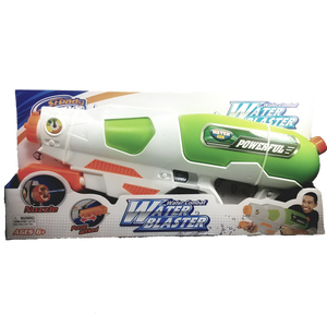 "Steady Stream White-Blue-Green Extra Large Easy Pump Action 24""  MG171050 Water Combat Blaster"