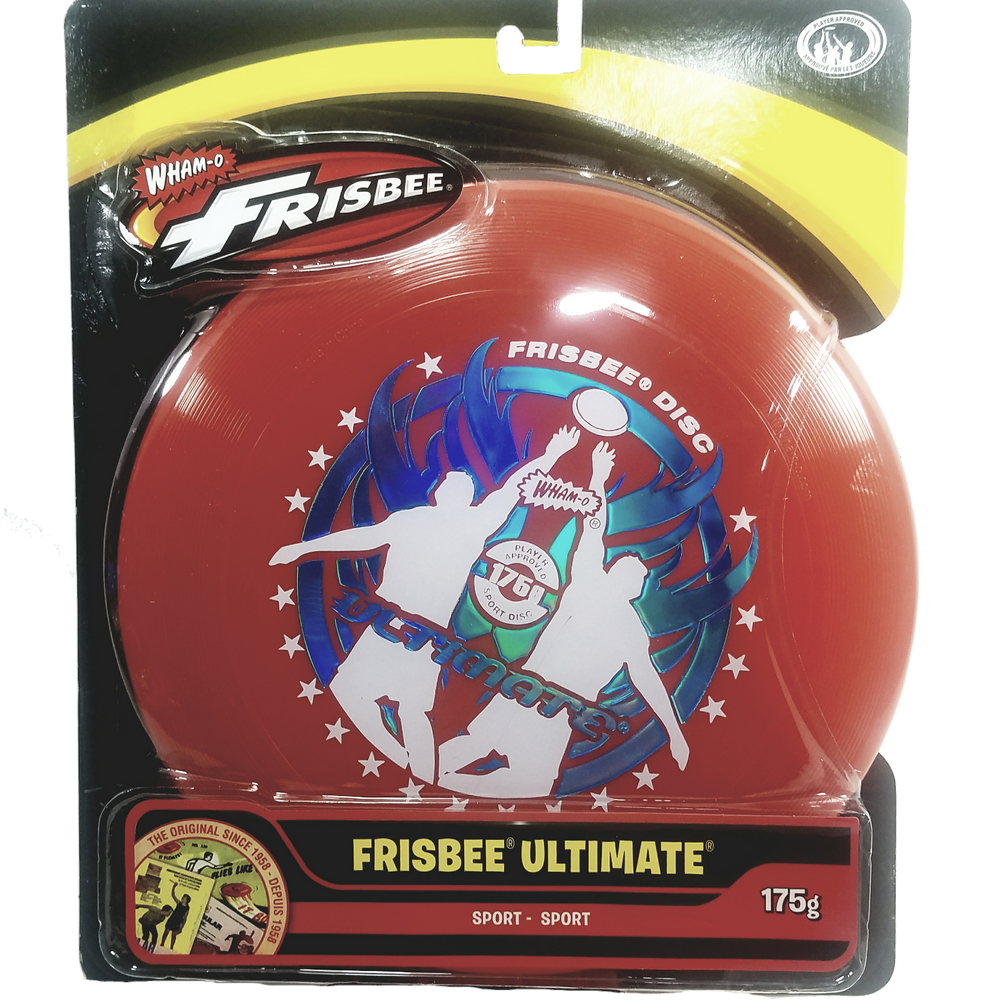 Wham-O Red Ultimate Frisbee Catch Graphics 175g 10.75