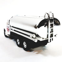 "Showcasts International White Transport Silver Oil Tanker 5"" Diecast Truck"