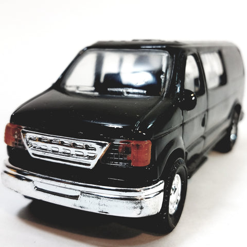 Black Ford Panel Delivery/Passenger Van 1/43 O Scale Commercial Truck