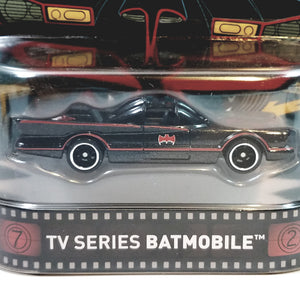 Hot Wheels Batman Premium Series Classic Batman TV Series Batmobile 1/64 Diec...
