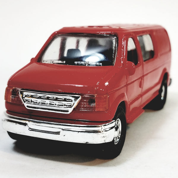Red Ford Panel Delivery/Passenger Van 1/43 O Scale Commercial Truck