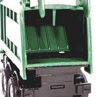 "SF Toys White & Silver Garbage Truck Recycle/Waste Management Dept 6"" Diecast Commerc..."