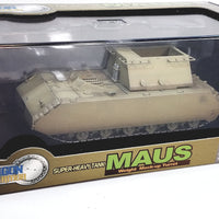 Dragon #60156 WWII German Super Heavy Tank Maus w/Mockup Turret Boblingen 1/72