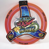 Air Max Flex Grip Ring Flyer Orange Frisbee Round Disc Toy