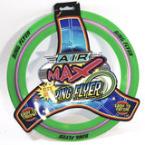 Air Max Flex Grip Ring Flyer Green Frisbee Round Disc Toy