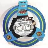 Air Max Flex Grip Ring Flyer Blue Frisbee Round Disc Toy