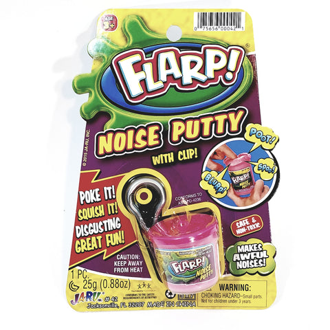 FLARP Fart Noise Mini Putty Keychain Gag .88 oz Goop