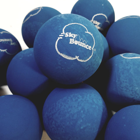 SKY BOUNCE Blue Handball/Racquetball Set Of 12 (1 Dozen) Racket Ball