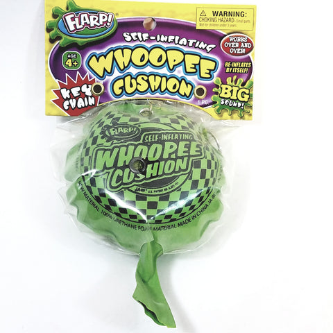 FLARP Self Inflating Whoopee Cushion Fart Bag Noise Maker w/Keychain Gag/Joke Novelty Toy
