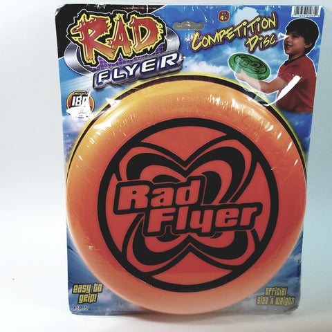 Rad Flyer Orange Competition Disc 180 Grams Frisbee With Official Size & Weig...