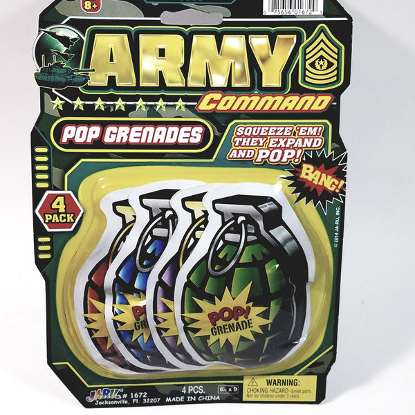 Army Command War Bomb Bags Joke 4 pack Set