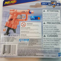 Nerf N-STRIKE JOLT Micro Sized Mega Power Dart Blaster With (2) Foam Darts