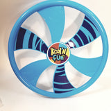 "Kool N Fun Fly Wheel 9"" Round Blue   Frisbee Flying Disc Toy"